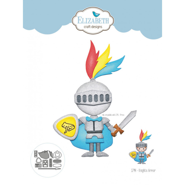 Elizabeth Craft Design - Storybook Collection - Knight's Armour
