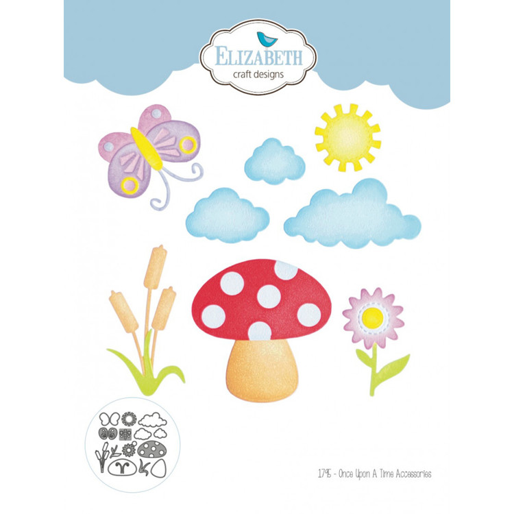 Elizabeth Craft Design - Storybook Collection - Once Upon A Time Accessories