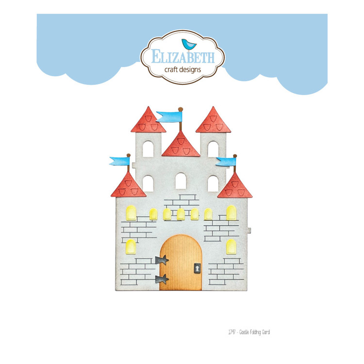 Elizabeth Craft Design - Storybook Collection - Castle Folding Card