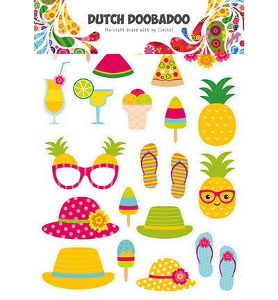 Dutch Doobadoo - Dutch Laser Paper Art - Summer