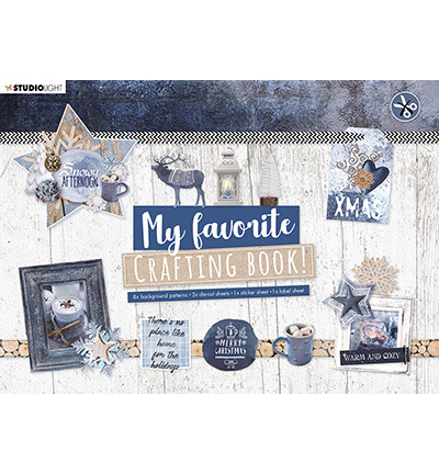 Studio Light - My Favorite Crafting Book - Snowy Afternoon nr 95