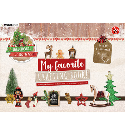 Studio Light - My Favorite Crafting Book A4 - Traditional Christmas nr 96