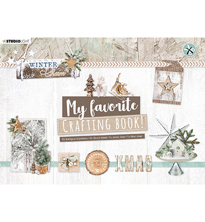 Studio Light - My Favorite Crafting Book A4  -  Winter Charm nr 97