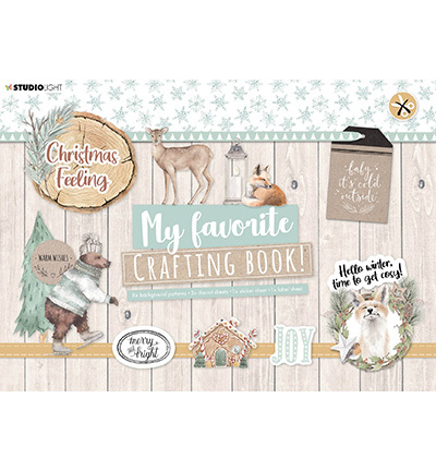 Studio Light - My Favorite Crafting Book A4 -  Christmas Feeling nr 98