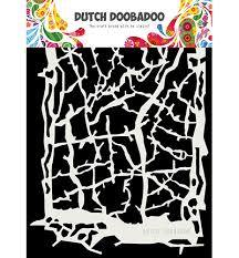Dutch Doobadoo - Dutch Mask Art - Grunge lines