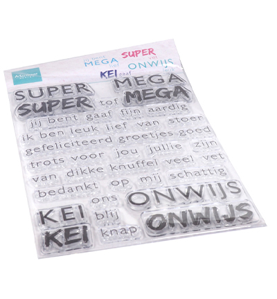 Marianne Design - Clearstamp  - SUPER-MEGA-KEI-ONWIJS