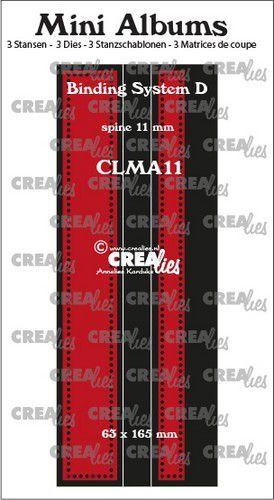 Stansmal Crealies - Mini Albums - Bindsysteem D