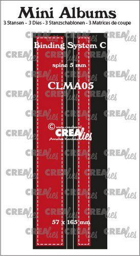 Stansmal Crealies - Mini Albums - Bindsysteem C