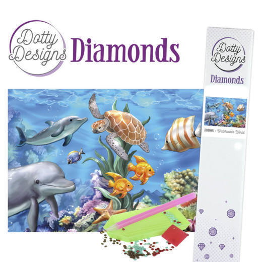Dotty Designs Diamonds - Underwater World