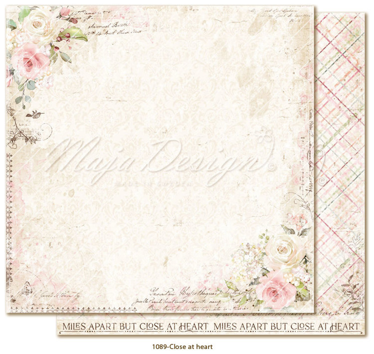 Scrappapier Maja Design - Miles Apart - Close at Heart