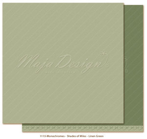 Maja Design - Monochromes - Shades of Miles - Linen Green