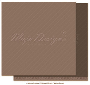 Maja Design - Monochromes - Shades of Miles - Walnut Brown