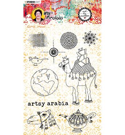 Studio Light - ART BY MARLENE - Artsy Arabia - Clearstamp STAMPBM60