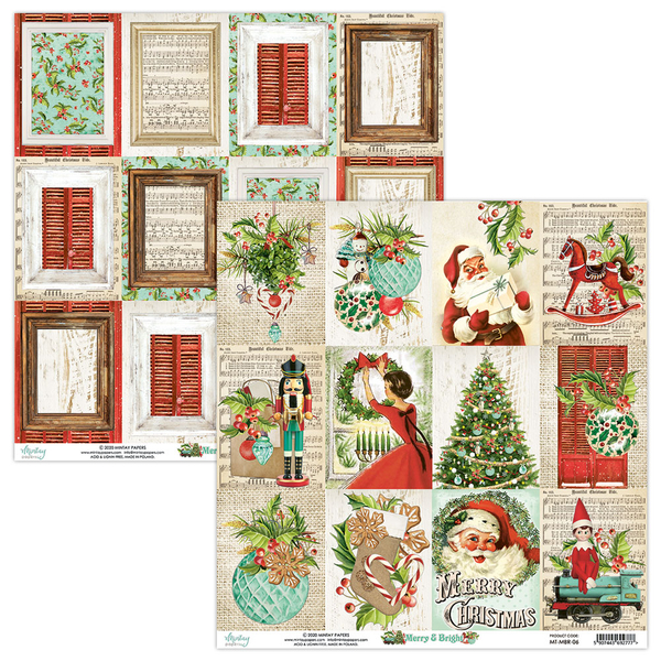 Mintay Papers - Merry & Bright  - MT-MBR-06