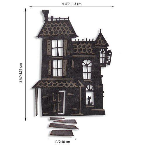 Sizzix - Thinlits Die set - Haunted - Tim Holtz
