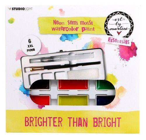 Studio Light - ART BY MARLENE - Artsy Arabia - Watercolor Paint - Brighter than Bright