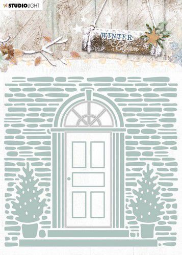 Studio Light - Winter Charm - Embossing & Die-cut Folder-  EMBWC07