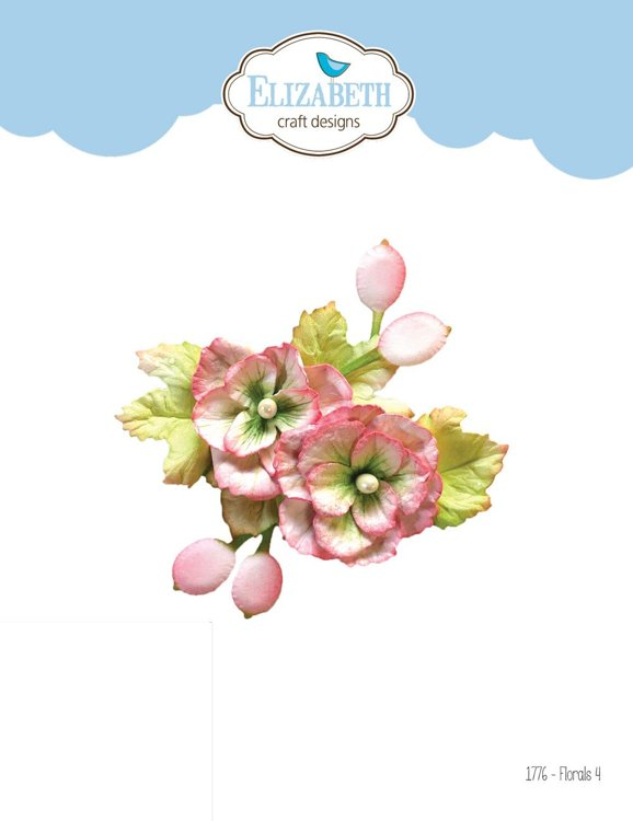Elizabeth Craft Design - The Paper Flower Collection - florals 4