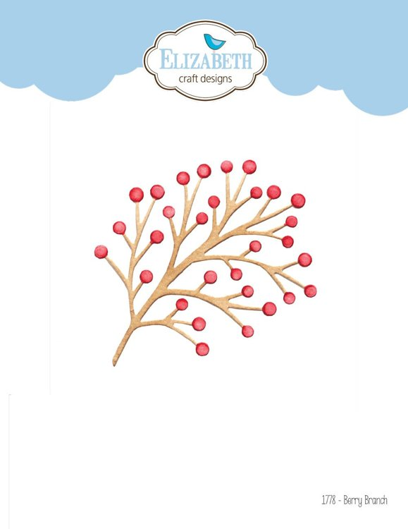 Elizabeth Craft Design - The Paper Flower Collection - Berry Branch & Twig