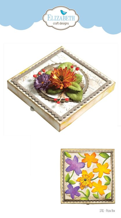 Elizabeth Craft Design - The Paper Flower Collection - Pizza Box