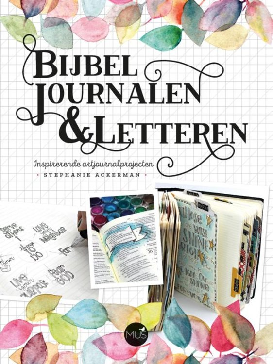 Boek - Bijbel Journalen & letteren (Stephanie Ackerman)