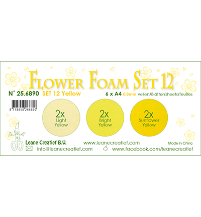 Leane Creatief - Flower Foam - set 12