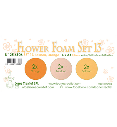 Leane Creatief - Flower Foam - set 13
