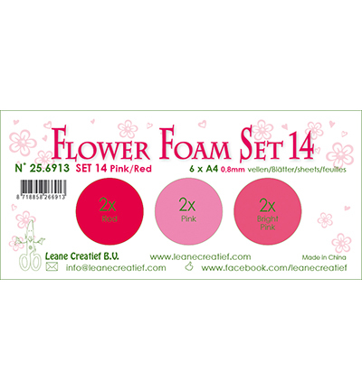 Leane Creatief - Flower Foam - set 14