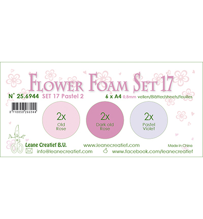 Leane Creatief - Flower Foam - set 17