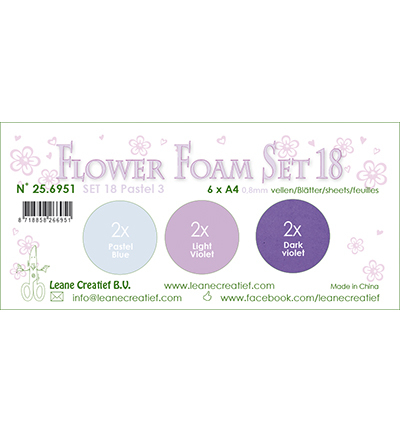 Leane Creatief - Flower Foam - set 18