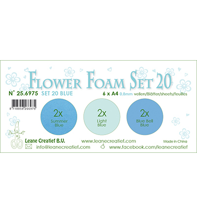 Leane Creatief - Flower Foam - set 20