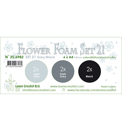 Leane Creatief - Flower Foam - set 21