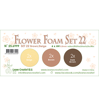 Leane Creatief - Flower Foam - set 22