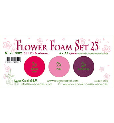 Leane Creatief - Flower Foam - set 23
