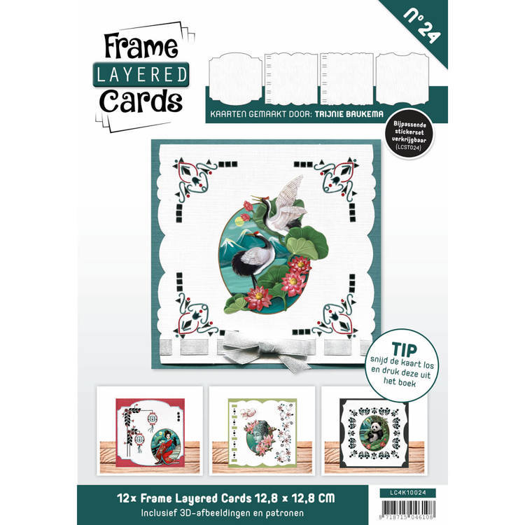 Frame Layered Cards 24 - 4K