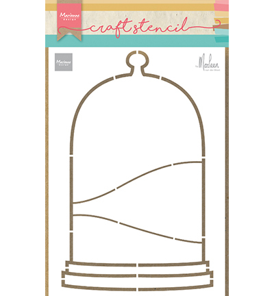 Marianne Design - Craft Stencil - Bell Jar by Marleen