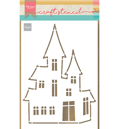 Marianne Design - Craft Stencil - Haunted House