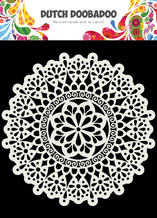Dutch Doobadoo - Dutch Mask Art - Mandala