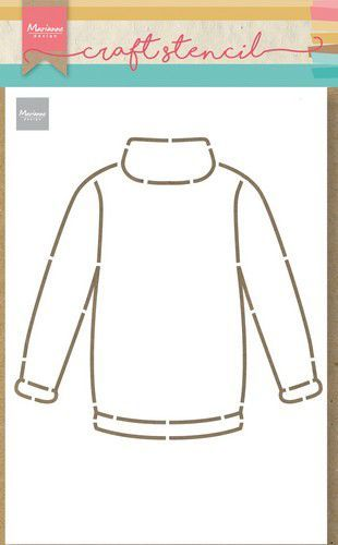 Marianne Design - Craft Stencil - Sweater