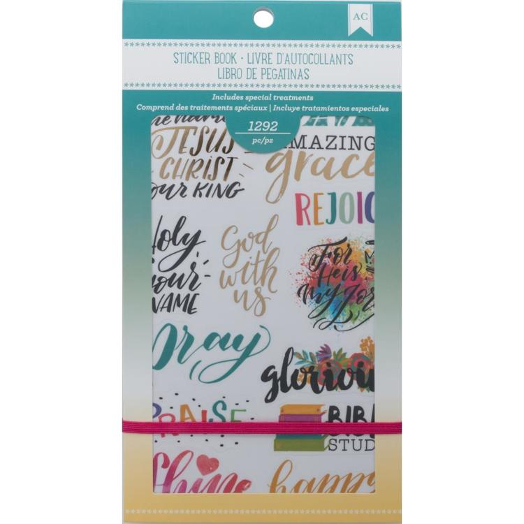 American Crafts Planner Stickers - Faith