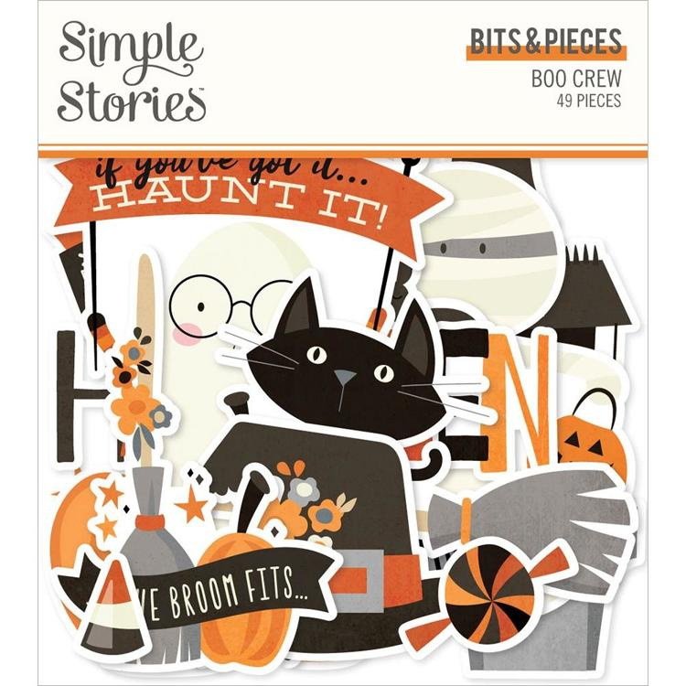 Simply Story - Boo Crew Bits & Pieces Die-Cuts