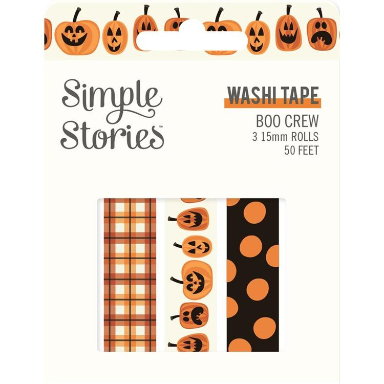 Simply Story - Boo Crew Washit Tape
