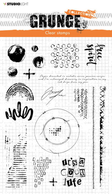 Studio Light - Grunge Collection 5.0 - Clearstamp - STAMPSL503