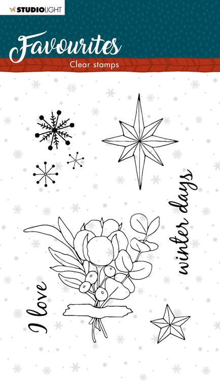 Studio Light - Winter Favourite - Clearstamp - STAMPSL505
