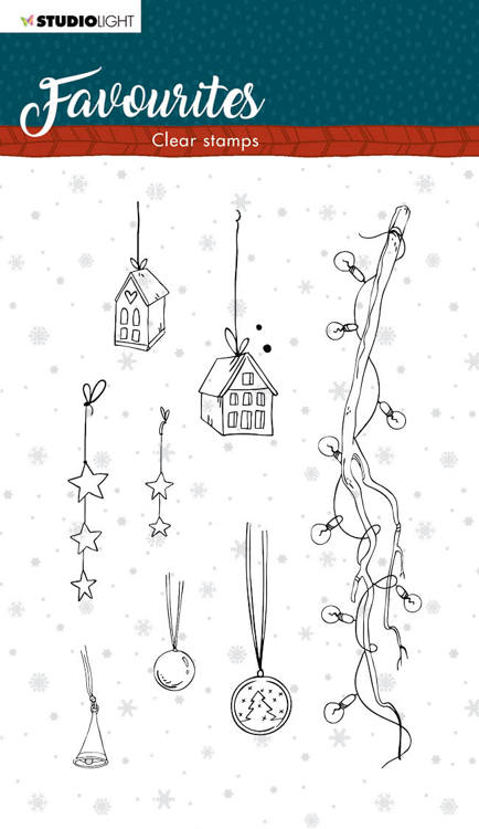 Studio Light - Winter Favourites - Clearstamp - STAMPSL507