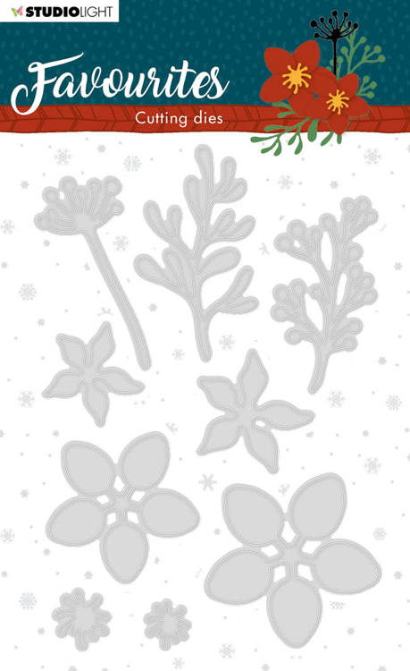 Studio Light - Winter Favourites - Cutting Die - STENCILSL332
