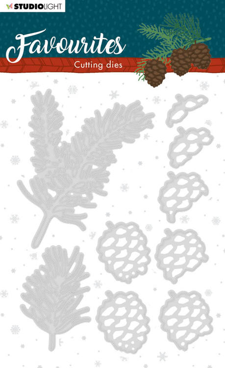 Studio Light - Winter Favourites - Cutting Die - STENCILSL333