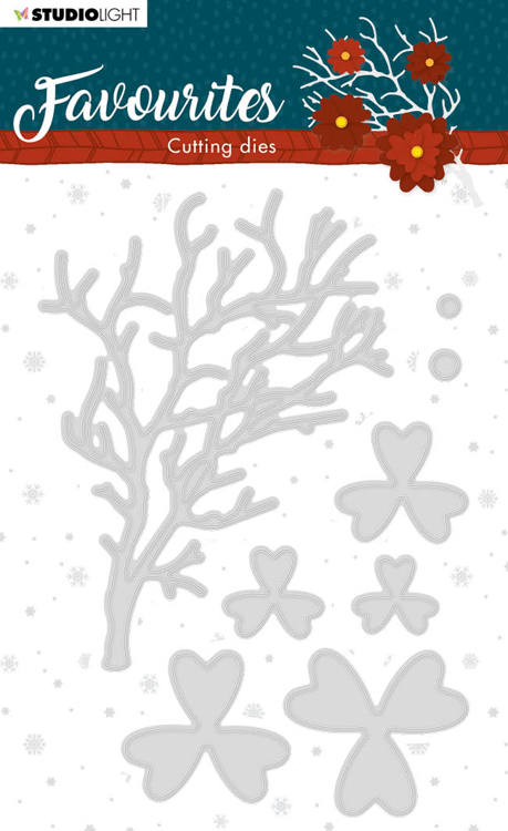 Studio Light - Winter Favourites - Cutting Die - STENCILSL334
