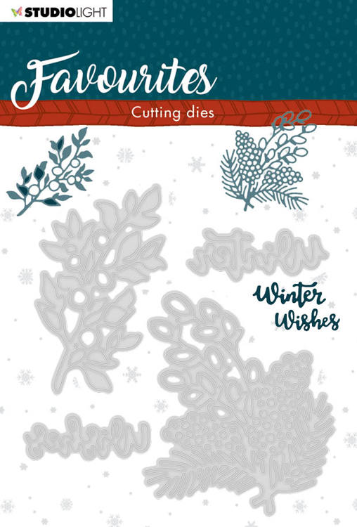 Studio Light - Winter Favourites - Cutting Die - STENCILSL336