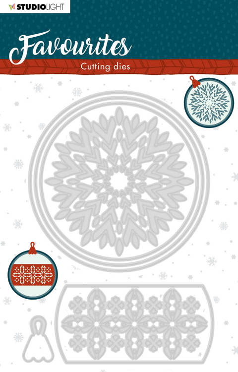 Studio Light - Winter Favourites - Cutting Die - STENCILSL340